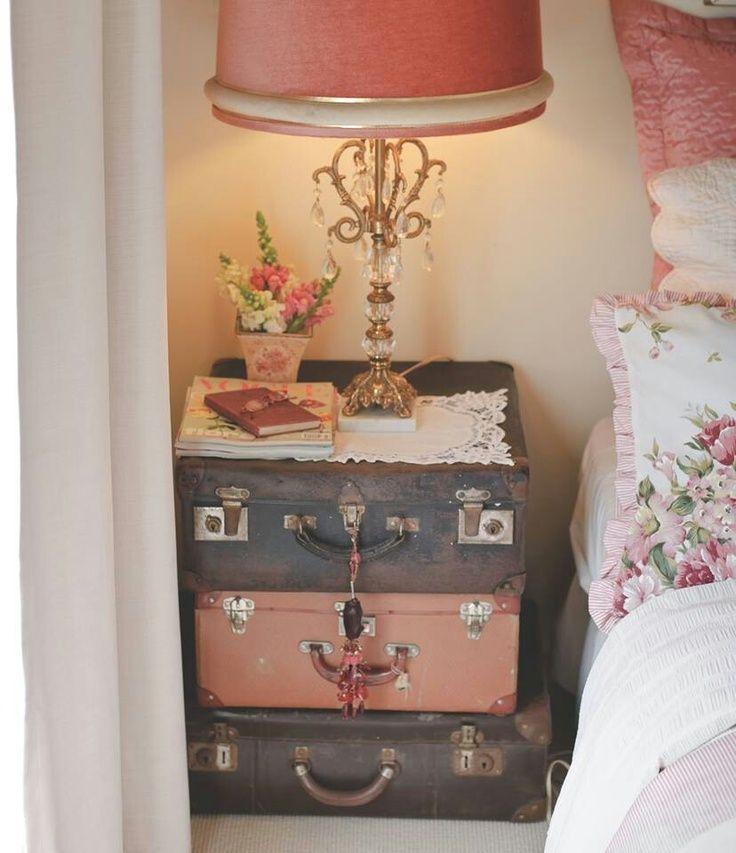 riciclare vecchie valigie