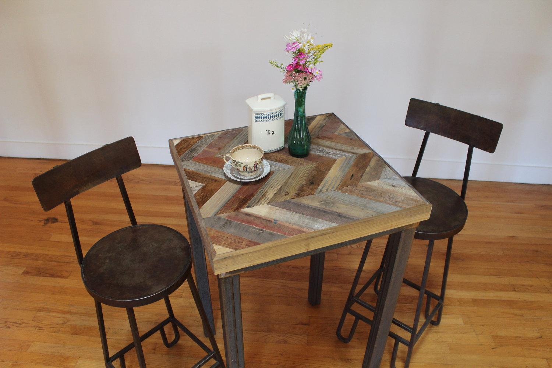 Bistro Table In Kitchen