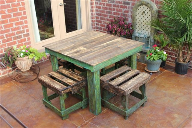 table DIY pallets 19