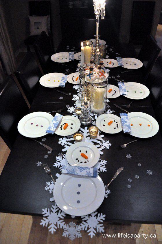 Apparecchiare la tavola di natale