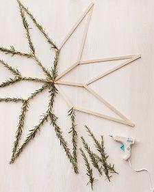 decorazione con ramo di pino 21