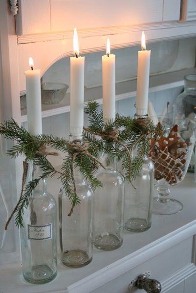decorazione con ramo di pino 24