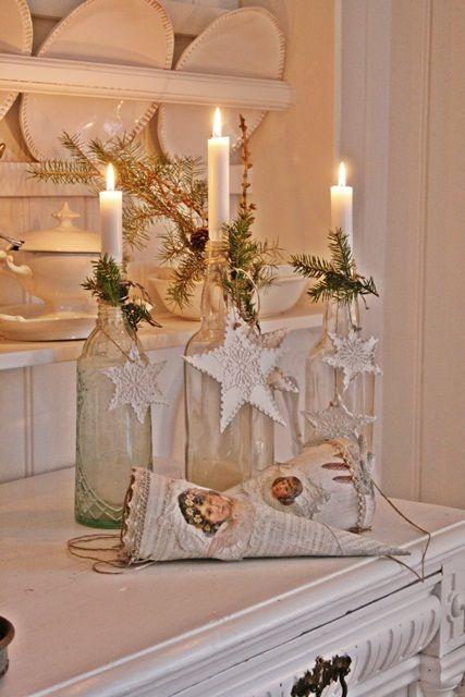 decorazione con ramo di pino 25
