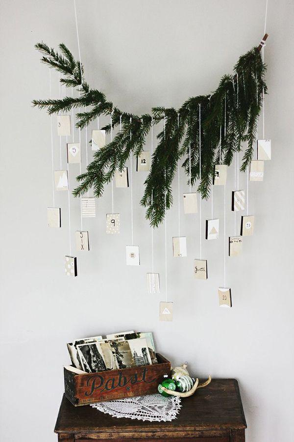 Favoloso Decorare con ramo di pino, 29 idee Fai da te da vedere AI01