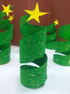 Lavoretti Di Natale Con Rotoli Carta Igienica.Riciclare Rotoli Di Carta Igienica Per Decorare Casa A Natale