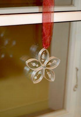 riciclare rotoli di carta igienica per decorare casa a natale!