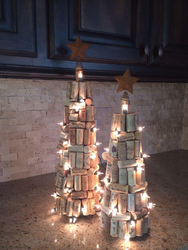 decorazione natalizie con tappi di sughero 11