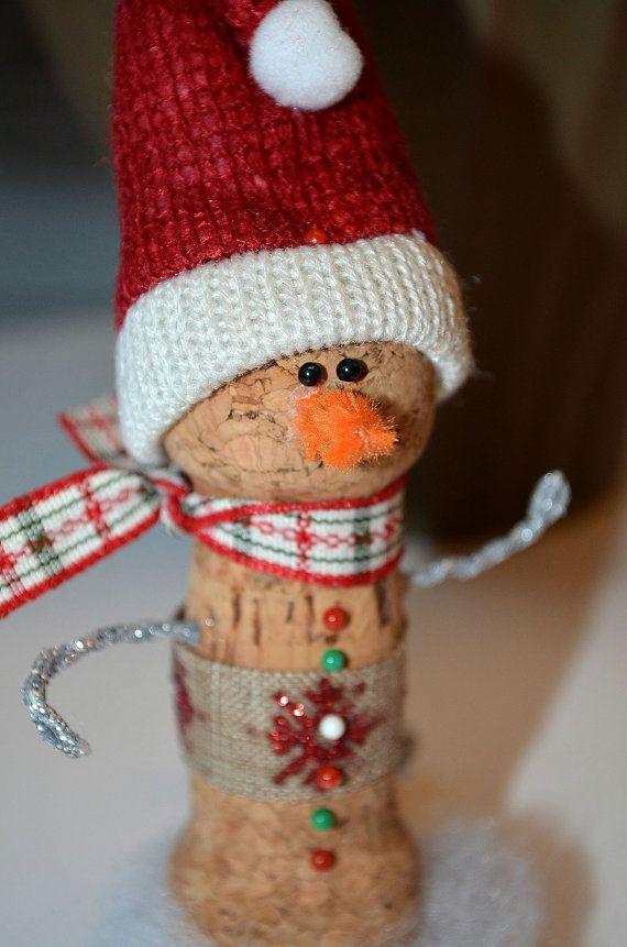 decorazione natalizie con tappi di sughero 12