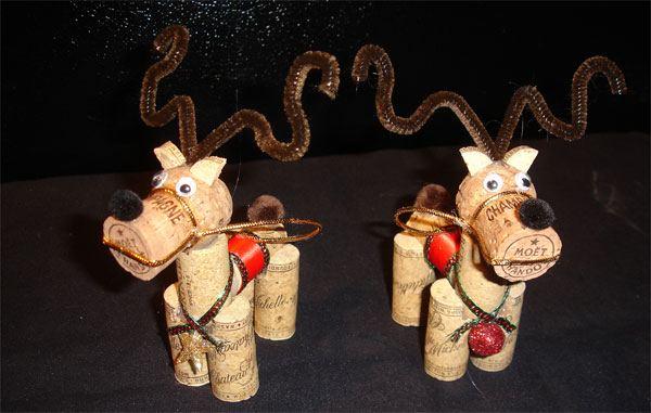 decorazione natalizie con tappi di sughero 3