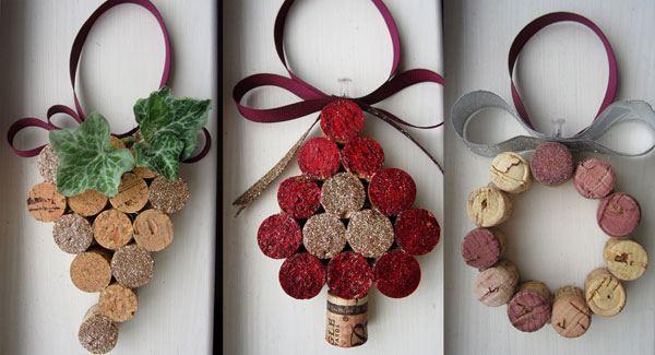 decorazione natalizie con tappi di sughero 5