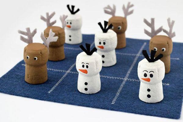decorazione natalizie con tappi di sughero 7