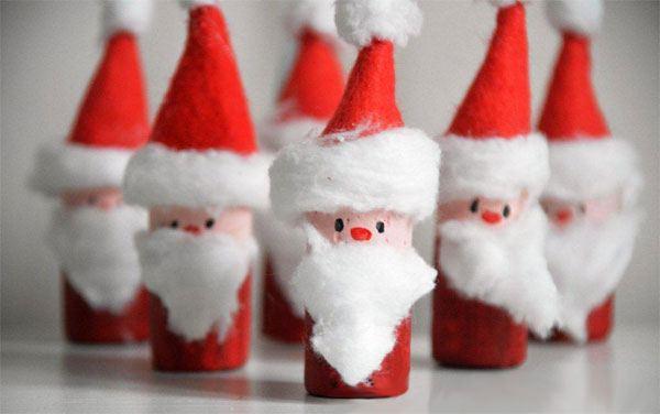 decorazione natalizie con tappi di sughero 8