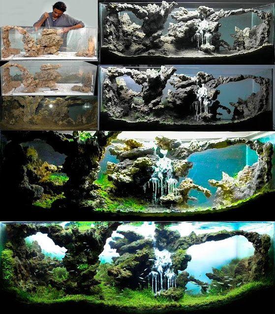 decorazioni acquario originali 9