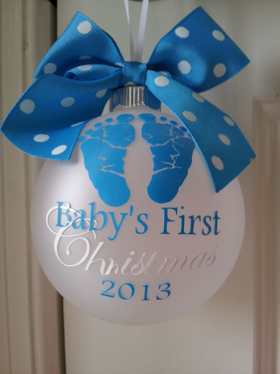 Baby Boy 1st Christmas Ornament