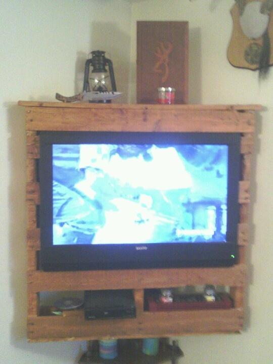 porta tv pallet 16