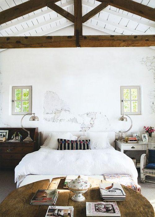 Camera Da Letto Travi A Vista : Travi in legno camera da letto ecco esempi