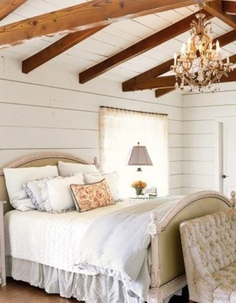 idee camera da letto travi 11