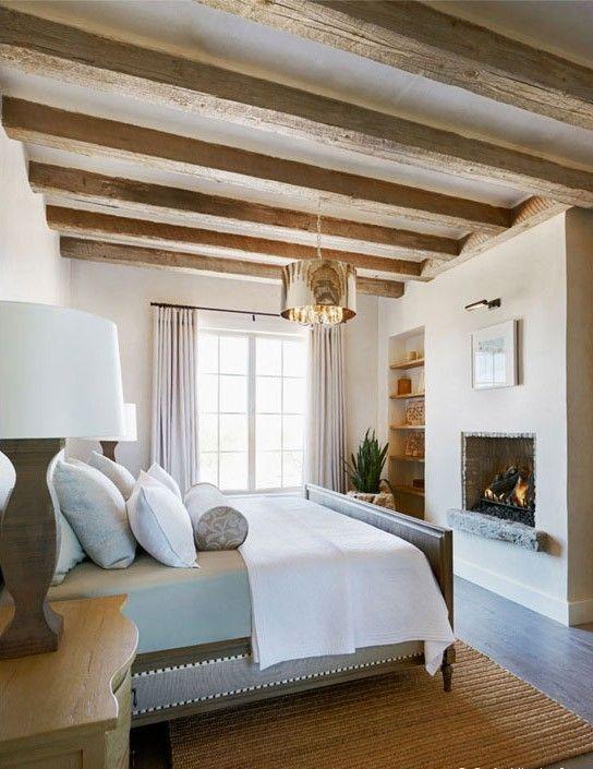 Travi in legno in camera da letto ecco 20 esempi for Piani e disegni di casa con 2 camere da letto