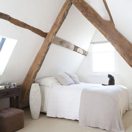 idee camera da letto travi 9