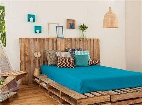 Un letto con i pallet ecco 15 idee da cui trarre - Camere da letto fai da te ...