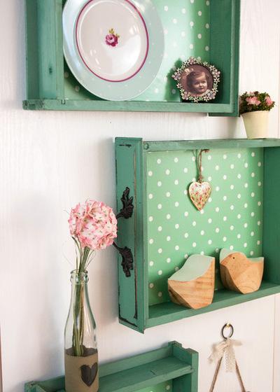 Mensole originali fai da te ecco 20 idee a cui ispirarsi - Idee creative per la casa ...
