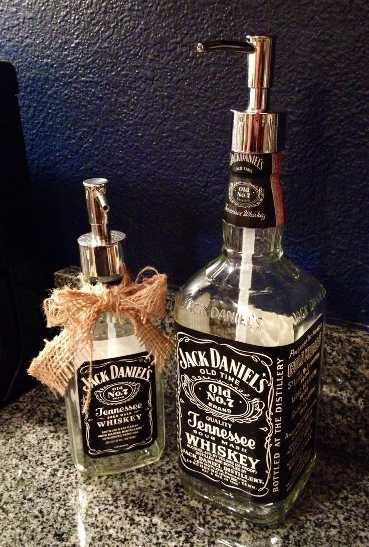 riciclo bottiglie jack daniels 3