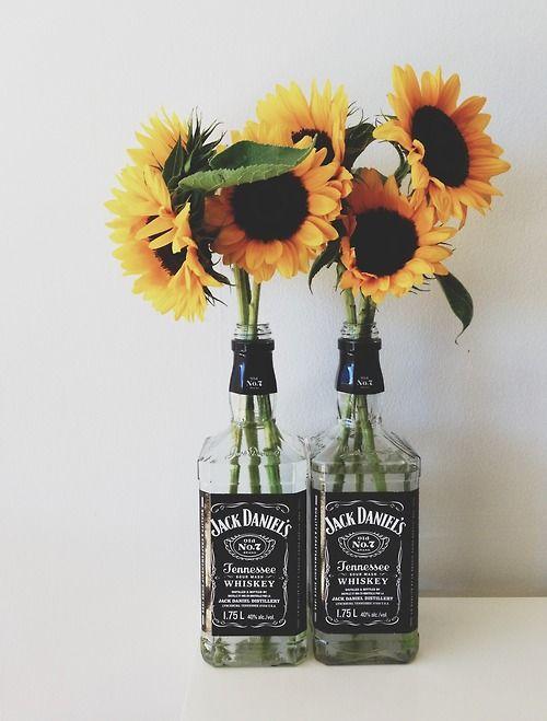 riciclo bottiglie jack daniels 8