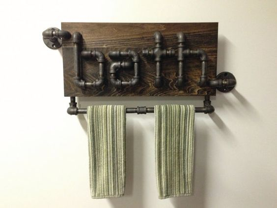 riciclo creativo tubi idraulici 19
