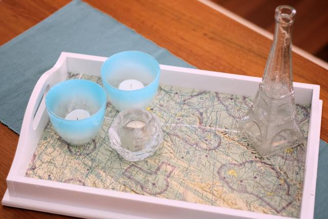 riciclo mappa geografica 17