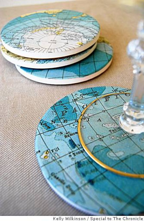 riciclo carta geografica