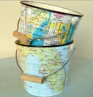 riciclo mappa geografica 6