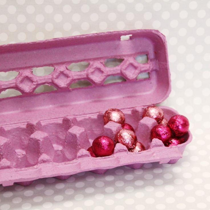 riciclo scatole delle uova 14