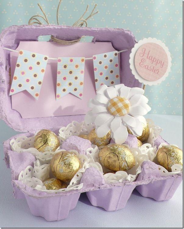 Eccezionale Riciclo creativo scatole delle uova! 20 idee a cui ispirarsi XI21