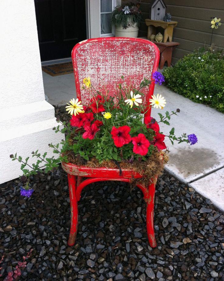 riciclo vecchia sedia 4