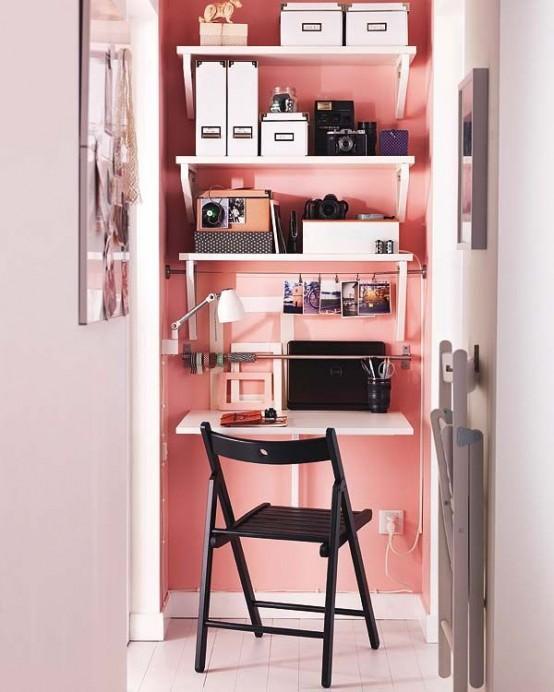 arredare piccolo ufficio casa 11