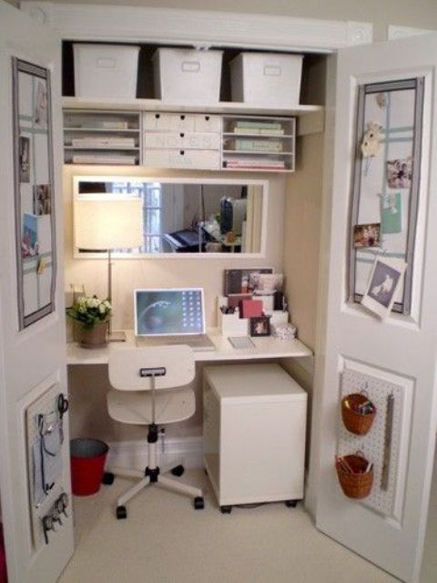 arredare piccolo ufficio casa 16