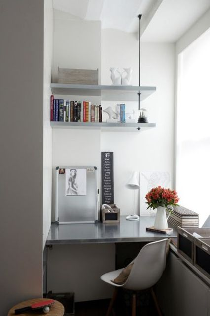 arredare piccolo ufficio casa 17