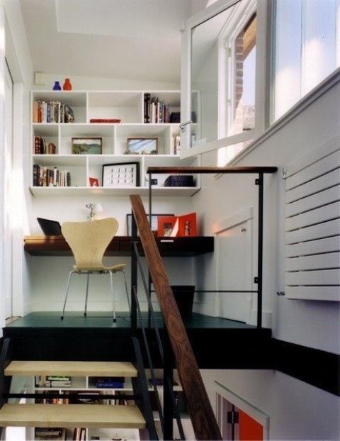 Uffici piccoli ma funzionali 33 idee lasciatevi ispirare - Arredare un ufficio ...