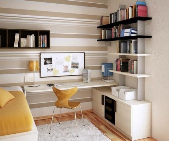 Un Piccolo Ufficio In Casa : Uffici piccoli ma funzionali idee lasciatevi ispirare