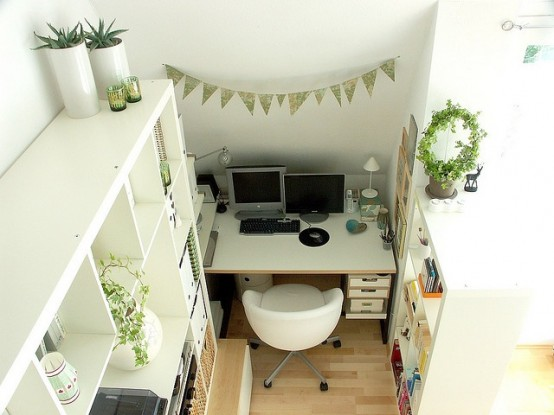 arredare piccolo ufficio casa 26
