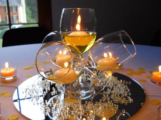 Bicchieri Candele Fai Da Te Ecco 20 Idee Stupende
