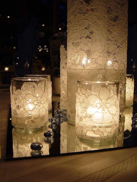bicchiere candela fai da te 4