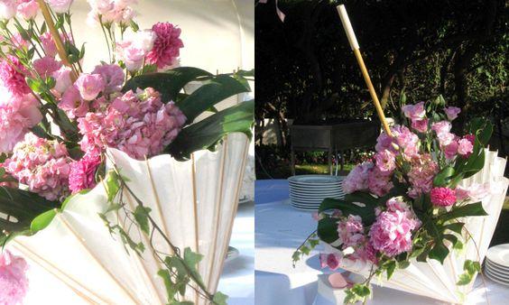 composioni di fiori con ombrello 1