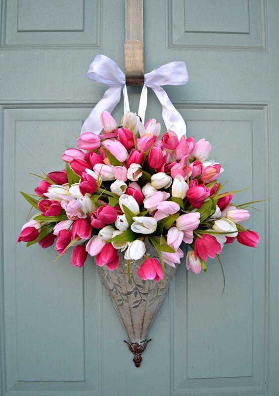 Famoso Composizioni floreali con ombrello! 15 idee a cui ispirarsi EH37