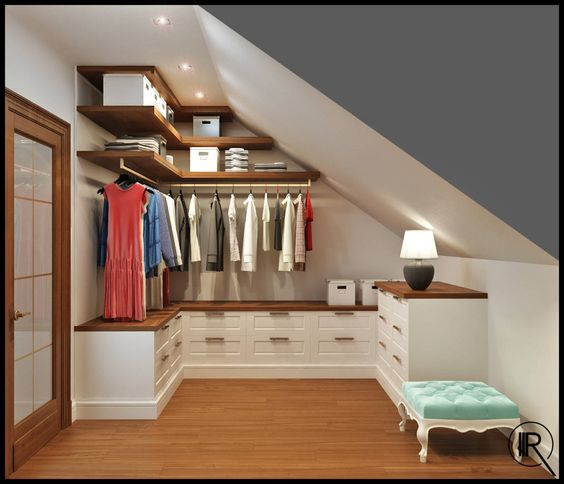Ottimizzare lo spazio nel sottotetto ecco 20 idee - Idea design casa ...