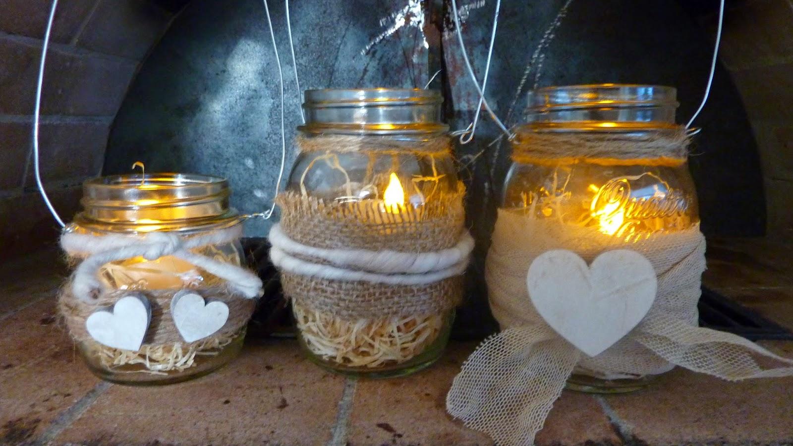 Lanterna romantica fai da te 20 idee per la san valentino for Fai da te disegni architettonici
