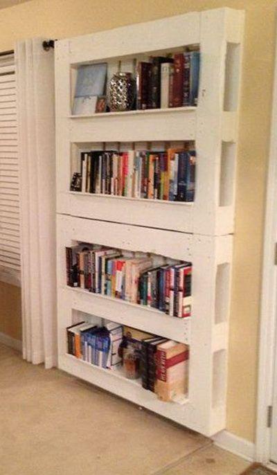 Libreria originale con materiale di riciclo 20 idee - Idea design casa ...