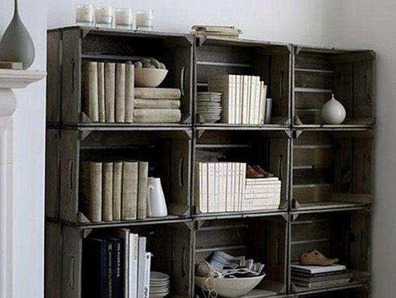 Libreria originale con materiale di riciclo! 20 idee da cui trarre ...