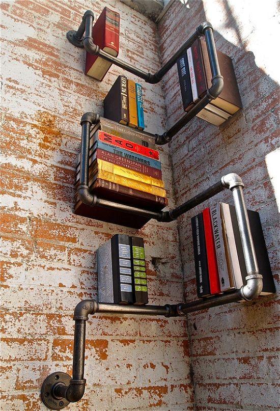 libreria fai da te riciclo 16