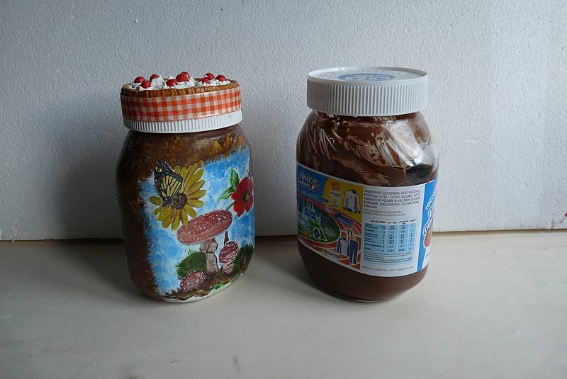 Lampada Barattolo Nutella Concorso : Piccole coccinelle la creatività barattolo nutella